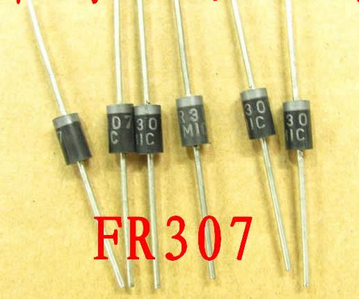 FR307 Fast Recovery Diode  5pcs
