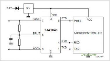 TJA1040 High Speed CAN Transceiver