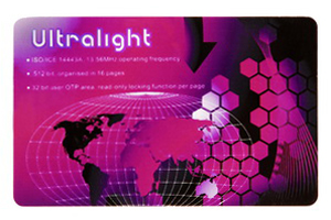 Contactless Smart Card Mifare Ultralight