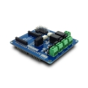Relay shield for Arduino, with 2 channels