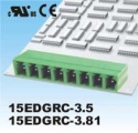 Plug-in Terminal Block 2p P3.5MM  R/A