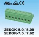 Plug-in Terminal Block 10p P5.08MM  R/A