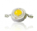 3W LED Bright Bright white 6000K-6500K 200-230LM 45mil