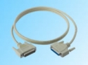 Paralel cable db25male - db25female